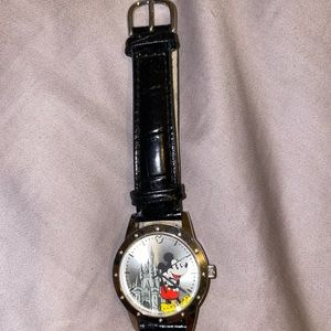 Disney Mickey Mouse Watch Black